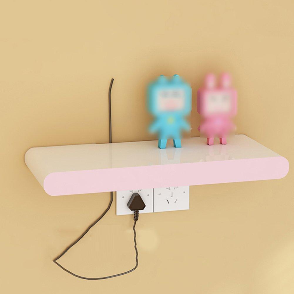 LIANGJUN 壁掛け棚 木製 リビングルーム 背景壁、 使用可能な9種類 ( 色 : 60X26cm-pink ) B07BHNPDCR 22630 60X26cm-pink 60X26cmpink
