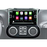 Alpine Electronics i109-WRA 9 Restyle Dash System with Apple CarPlay for Jeep Wranglers