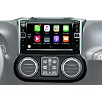 Alpine Electronics i109-WRA 9 Restyle Dash System with Apple CarPlay for Jeep Wranglers