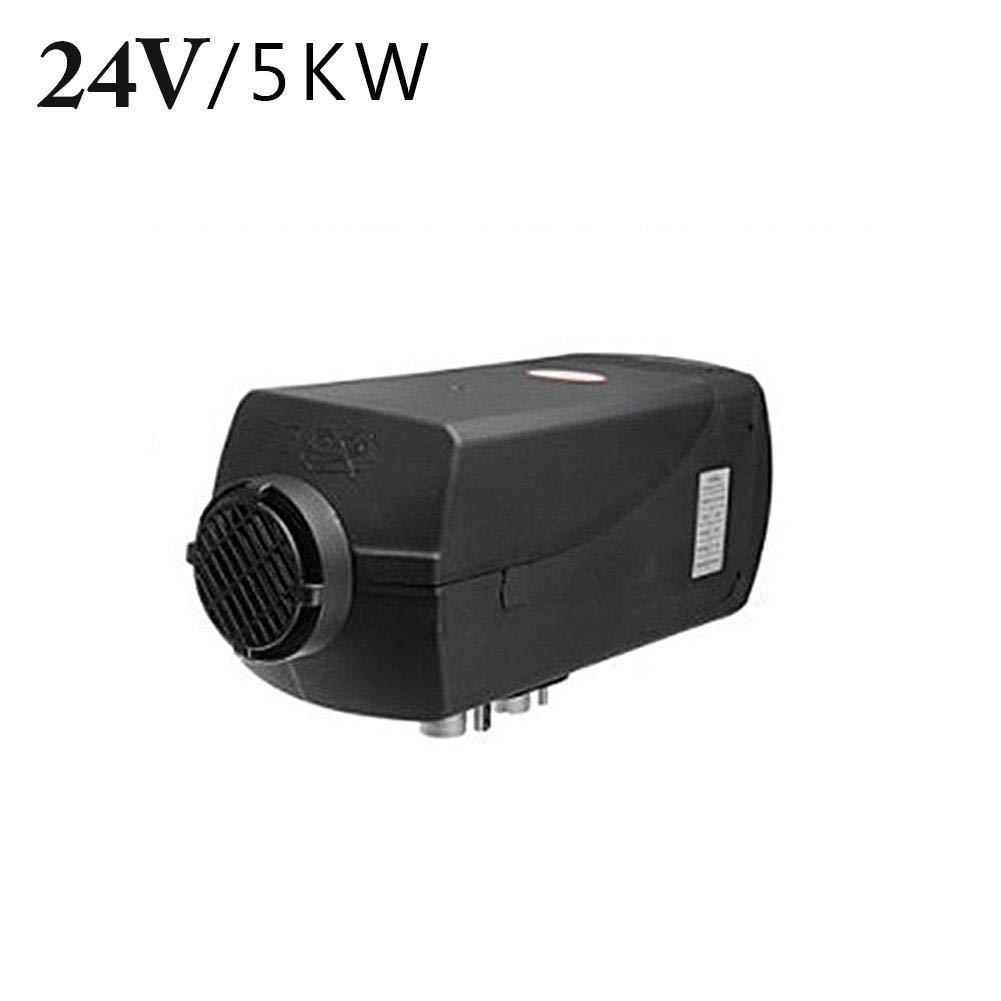 24V 5KW con Il Monitor LCD di Telecomando per Il rimorchio del Camper Maliyaw Riscaldatore di parcheggio del riscaldatore dellAria di Diesels del riscaldatore di Automobile 12V Il Camper,