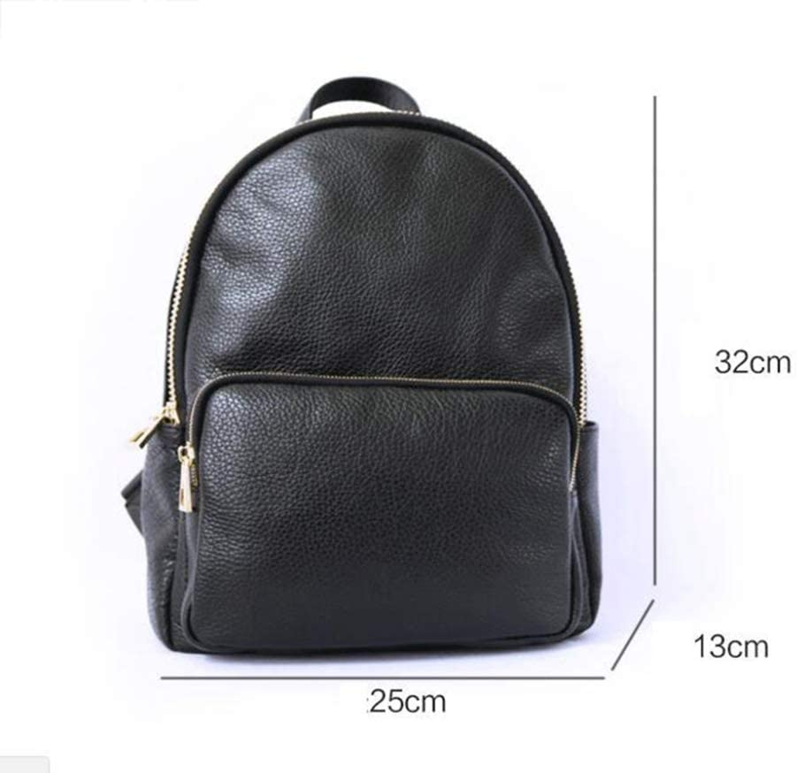 Ambiguity Ladies Backpacks Travel,Leather Shoulder Bag Fashion Tote Backpack 25x13x32cm