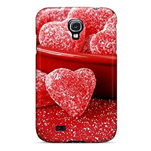 MeSusges Case Cover Protector Specially Made For Galaxy S4 Fruit Jellies Formofhearts