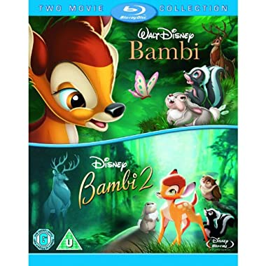 Bambi and Bambi 2 Double Pack Blu-ray [Region Free]