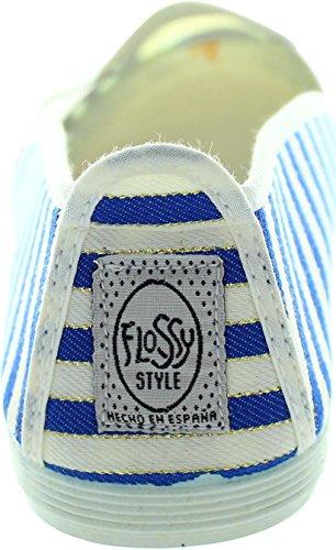 Flossy  Santona, Chaussures de ville à lacets pour femme multicolore multicolore