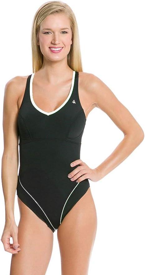 Amazon.com: Aqua Sphere Chloe de la mujer traje de baño ...