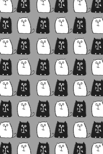 Read Online Bullet Journal Notebook For Cat Lovers Black and White Cats in a Row 9: 112 Page Numbered Graph Style Grid Bullet Journal With Index Pages and Key ... (Noteworthy Series Graph Bullet) (Volume 84) pdf epub
