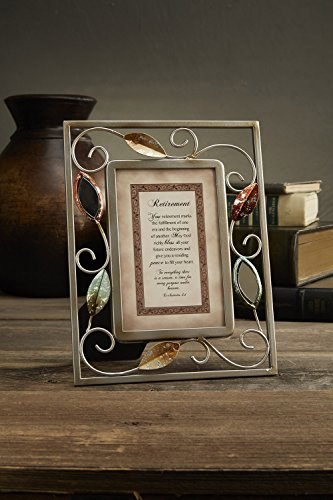 CB Gift Heartfelt Collection-Heartwarming Expressions Wire Framed Sentiment and Verse, 7 x 9-Inches, Retirement -Ecclesiastes 3:1