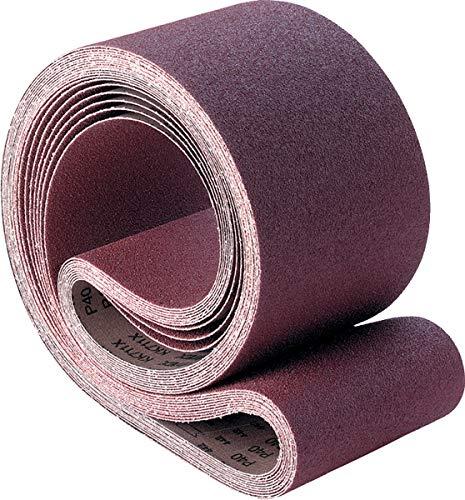 PFERD 49468 Benchstand Abrasive Belt Aluminum Oxide A Pack of 10 80 Grit 48 Length x 6 Width