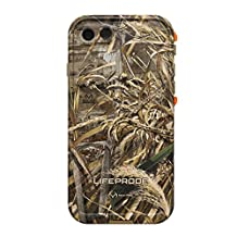 Lifeproof FRE SERIES Waterproof Case for iPhone 7 (ONLY) - Retail Packaging - REALTREE MAX 5 ORANGE (BLAZE ORANGE/DARK FLAT EARTH/MAX5 HD DESIGN)