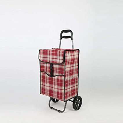 Amazon.com: MAFYU Old Man Climbing Building Trolley Car Portable Hand Trolley, Home Grocery Shopping Cart Trailer, 98×41×29Cm: Kitchen & Dining