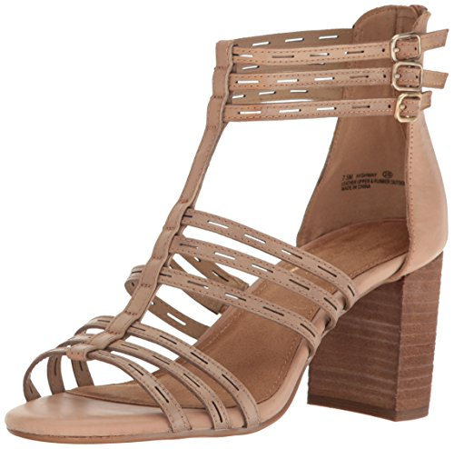 Tan Dress Aerosoles Women Leather Light Highway Sandal wSwXqHU