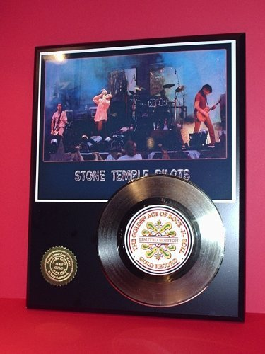 Stone Temple Pilots 24Kt Gold Record LTD Edition Display Gold Record Outlet