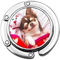 Cute Chihuahua Dog Animal Bags Hanger Purse Hanger