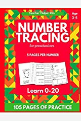 Number Tracing Book for Preschoolers: Practice Tracing Skills for Ages 3-5 Paperback