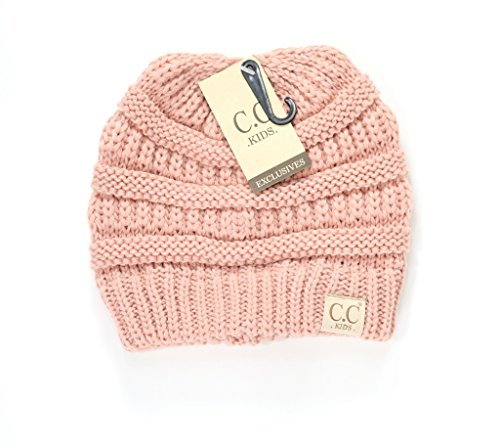 Crane Clothing Co. Women's Kids Solid CC Beanie One Size Indie - Outfits Indie Cute