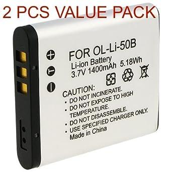 Amazon.com: Kastar y cargador de batería para Olympus LI-50B ...