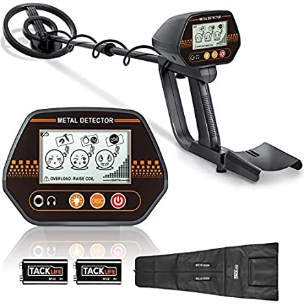 Metal Detector, 3 Modes Adjustable Detectors (24″-45″)...