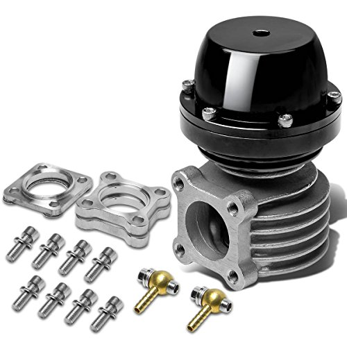 (44/46mm External Turbo Manifold Wastegate with Spring (Black))