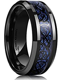 Amazon Carbon Fiber Rings Clothing Shoes Amp Jewelry