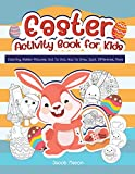 Easter Activity Book For Kids: Coloring, Hidden