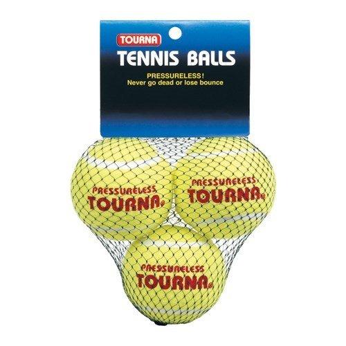 Gamma Pressureless Practice Balls (Tourna Pressureless Practice Tennis Balls, Training-Hitting Drills-3)