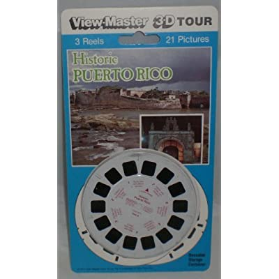 Historic Puerto Rico View-Master 3 Reel Set - 21 3d Images: Toys & Games