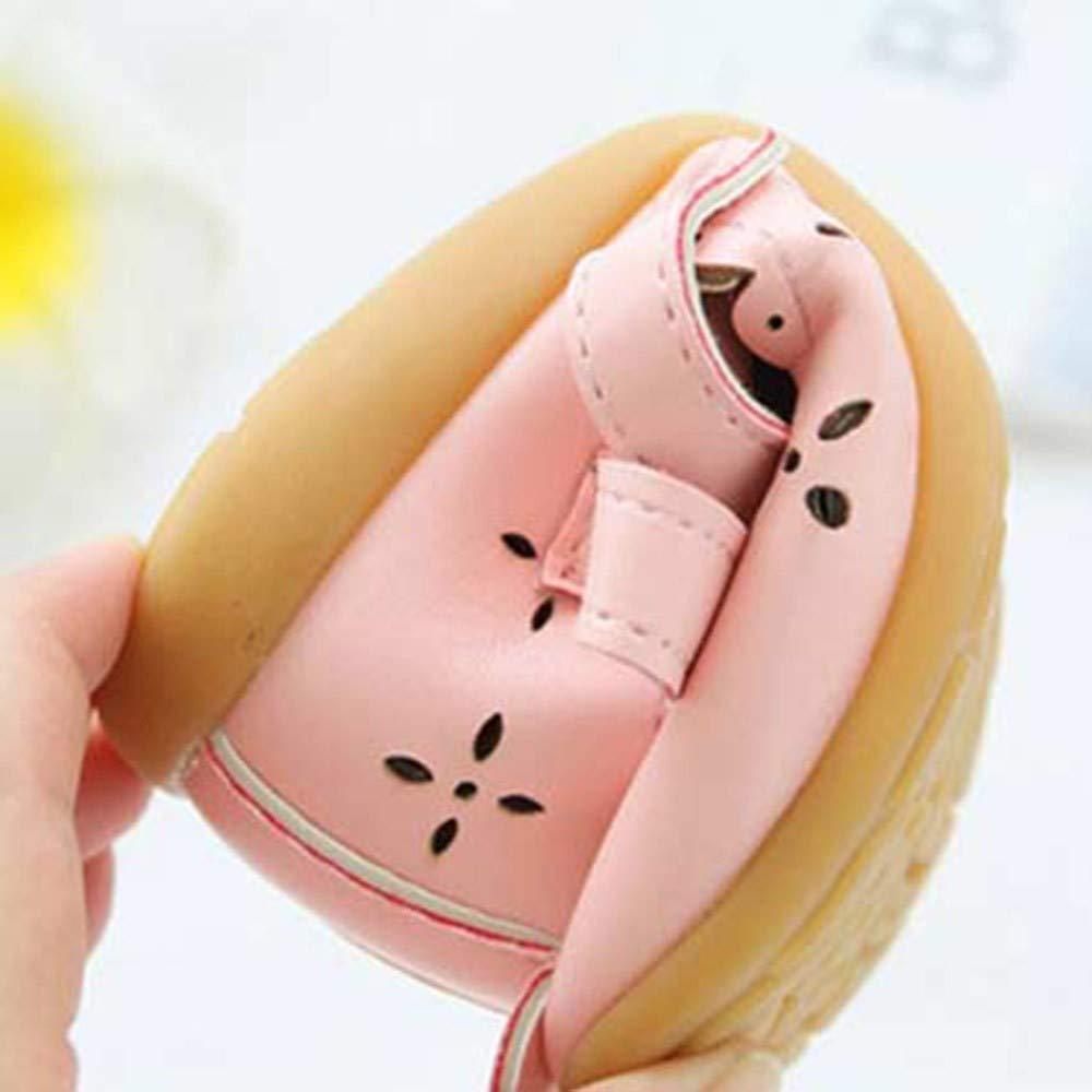 b01075534 Zapatos De Bebé ZARLLE Zapatillas de deporte de bebé recién nacido Patucos  Primeros pasos Patrón de recorte de arco princesa Zapato de cuero ...