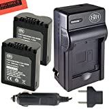 panasonic camera battery charger - BM Premium Pack of 2 CGA-S006 Batteries and Battery Charger for Panasonic Lumix DMC-FZ7, DMC-FZ8, DMC-FZ18, DMC-FZ28, DMC-FZ30, DMC-FZ35, DMC-FZ38, DMC-FZ50 Digital Camera