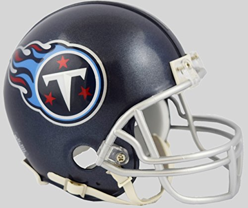 Riddell NFL Tennessee Titans Helmet Mini VSR4Helmet Replica Mini VSR4 Style 2018, Team Colors, One Size