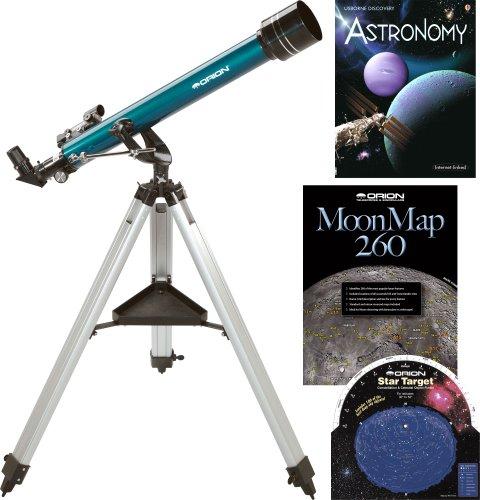 Orion Observer 60mm AZ Refractor & Starter (Orion Telescope Observer)