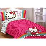Sanrio Hello Kitty Peace Kitty Full Sheet Set