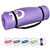 Toneseas Yogo Mat Set,Over 1/2-Inch Extra Thick 72 Inches Long with Free Carrying Strap and Bag,Anti-Slip Eco Friendly Non-Toxic for All Types of Pilates & Floor Exercises