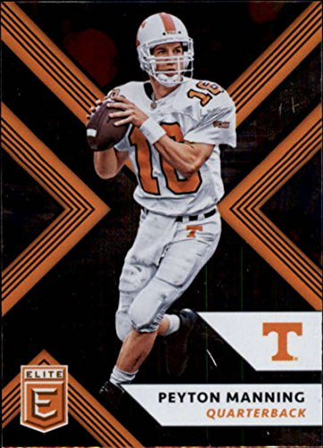 - 2018 Panini Elite Draft Picks #80 Peyton Manning Tennessee Volunteers Football Card