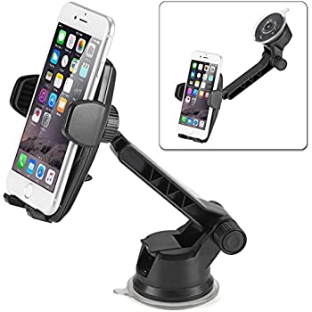 auto lock iphone ikross auto lock 2 in 1 car phone mount 7661