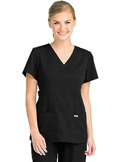 4e4ac522f6b1 Amazon.com  Grey s Anatomy Signature Women s 2207 3 Pocket Low Rise ...