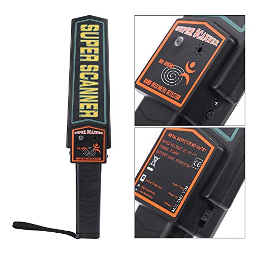 Amazon.com: Handheld Metal Detector Pinpointer Gold Treasure Hunter Pin Pointer Tester Factory Station Security Testing: Industrial & Scientific