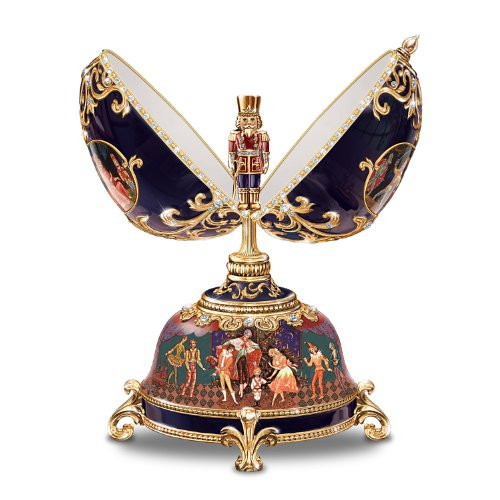 Bradford Exchange The Russian Nutcracker Collectible Musical Egg by Ardleigh Elliott