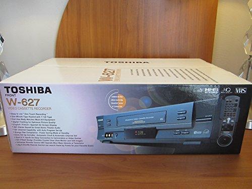 Toshiba W627 - VCR - VHS - 4 head(s)