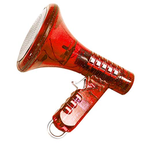 Fun Central (AU025) Multi Voice Changer - Change your voice with 8 different voice modifiers, Random Color, For Boys And Girls Of All Age, Parties, Christmas, Events - Red -