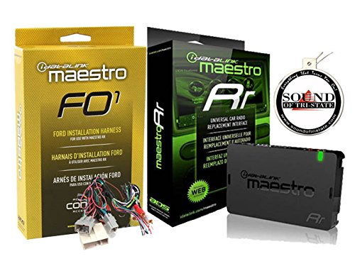 ADS Maestro ADS-MRR iDataLink Steering Wheel Interface w/HRN-RR-FO1 T Harness 2006 UP Ford and a Free SOTS Air Freshener