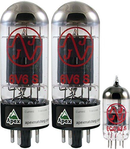 Vacuum Tube Set for Fender Super Champ X2 Combo & Head, Apex Matched by AP Tubesets