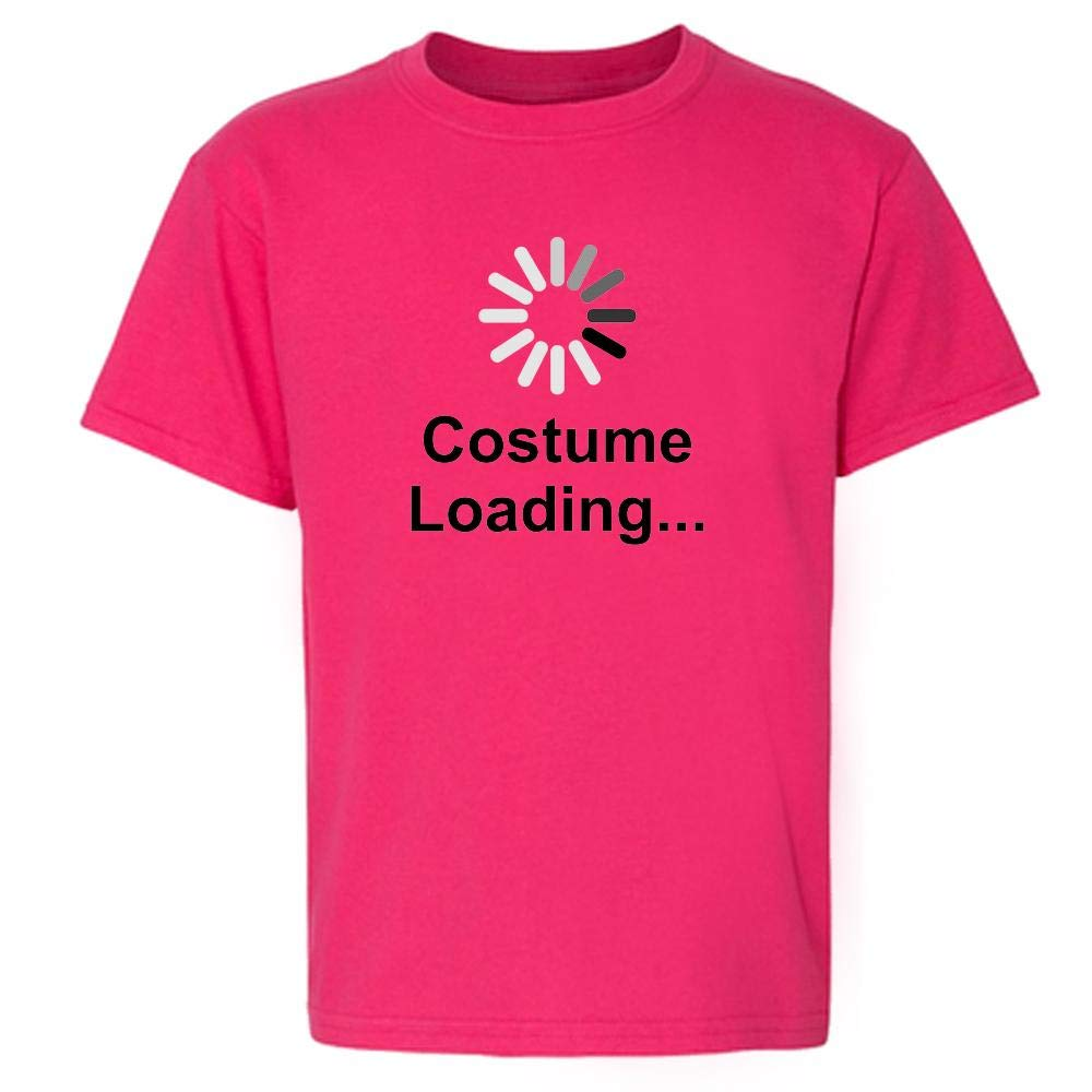 Costume Loading Funny Halloween Youth Short Sleeve T-Shirt