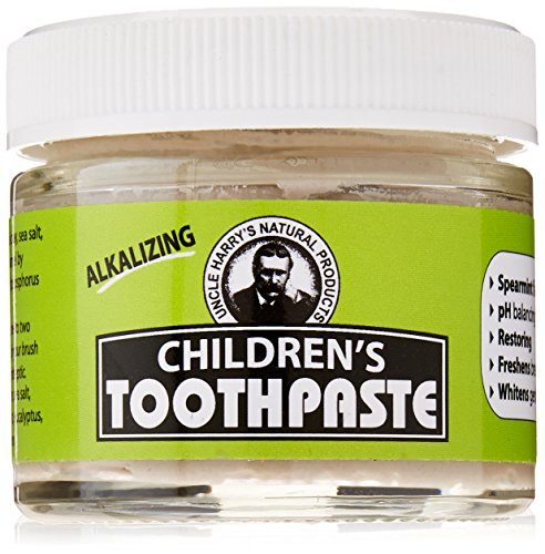 Uncle Harrys Childrens Toothpaste Spearmint product image