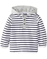 Egg by Susan Lazar Baby Boys' Striped Jersey Long Sleeve Hoodie