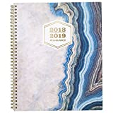 AT-A-GLANCE 2018-2019 Academic Year Weekly & Monthly Planner, Large, 8-1/2 x 11, Sapphire (1106-905A)