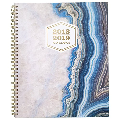 at-A-Glance 2018-2019 Academic Year Weekly & Monthly Planner, Large, 8-1/2 x 11, Sapphire ()
