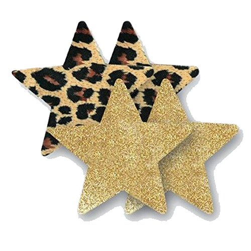 bristol-6-domenico-leopard-gold-star-adhesive-nipple-covers-pasties-2-pairs
