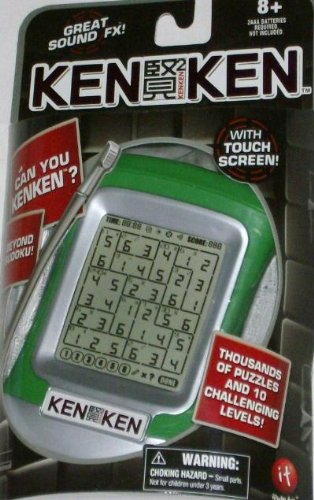 Sudoku Electronic Touch Screen - KEN KEN Electronic Handheld Game