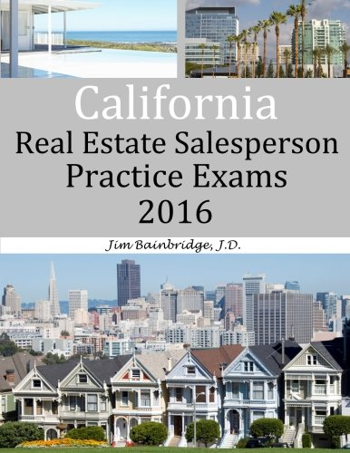 Download California Real Estate Salesperson Practice Exams for 2016 pdf