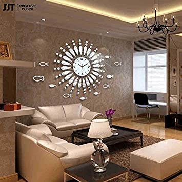 horloge silencieuse design cool horloge murale led pas cher paris u chaise inoui horloge. Black Bedroom Furniture Sets. Home Design Ideas